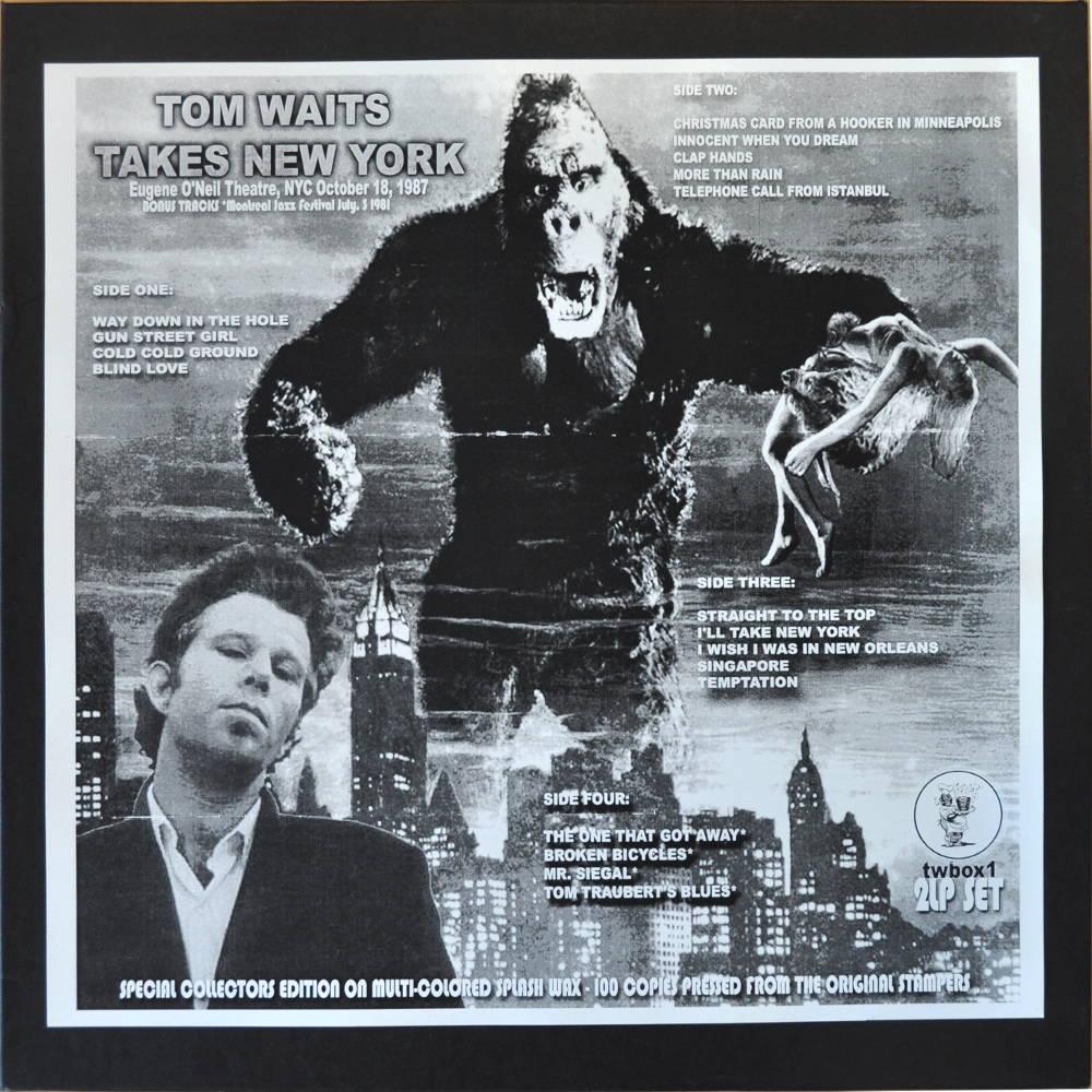 Tom Waits : Takes New York (2 LP Box) : vinyl bootleg